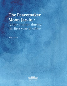 The Peacemaker Moon Jae-in: Achievements during his first year in office (Sourcebook on the accomplishments in state affairs)