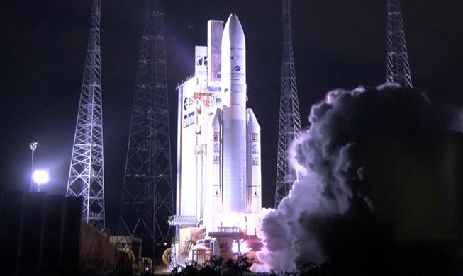 해양·환경 관측위성 '천리안 2B호' 발사 성공