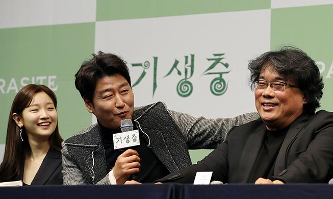 """봉준호 감독, """"'기생충' 영화 자체로 기억됐으면 한다"""""""